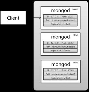 [그림 5-1] 복제 독립 서버 구성도